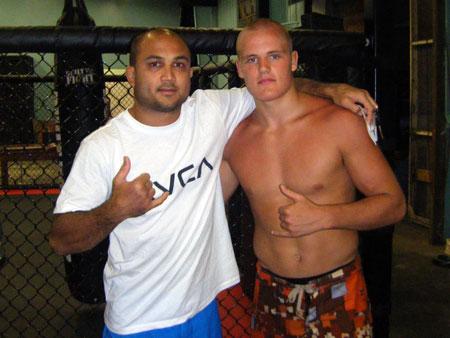 Gunnar was ecstatic meeting MMA legend BJ Penn