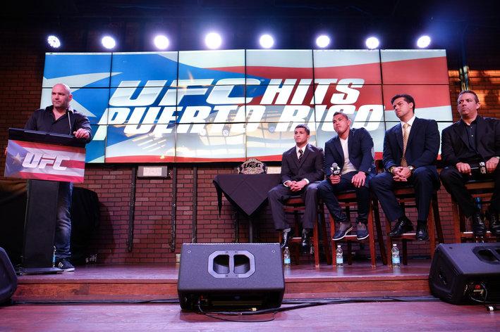 UFC Press Conference Puerto Rico