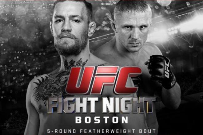UFC McGregor V Siver