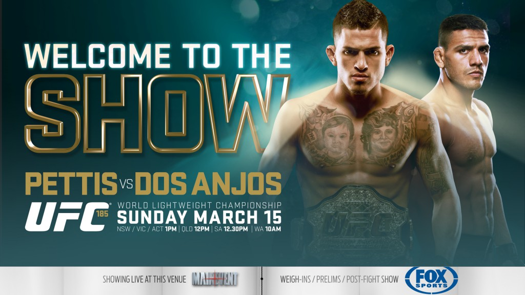 UFC 185 FOXSPORTS 16x9