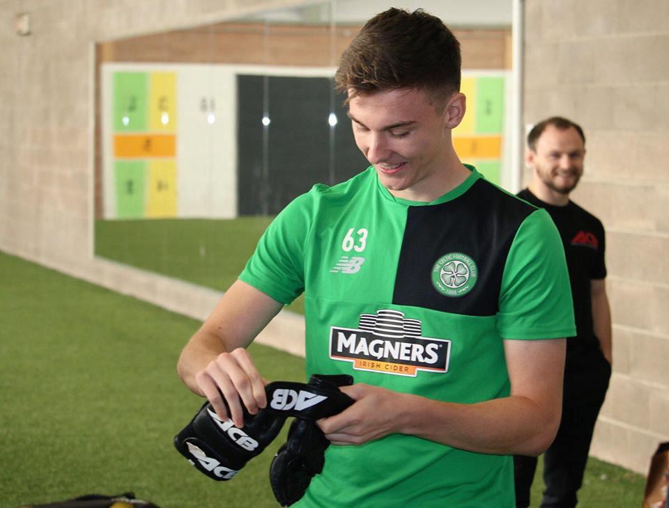 celtic-kieran-tiernay-gloves-on