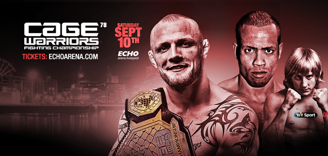 Cage Warriors 78 Results