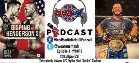MMA UK Podcast Episode 1- Mark Godbeer