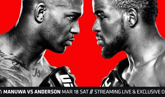 UFC London Poster