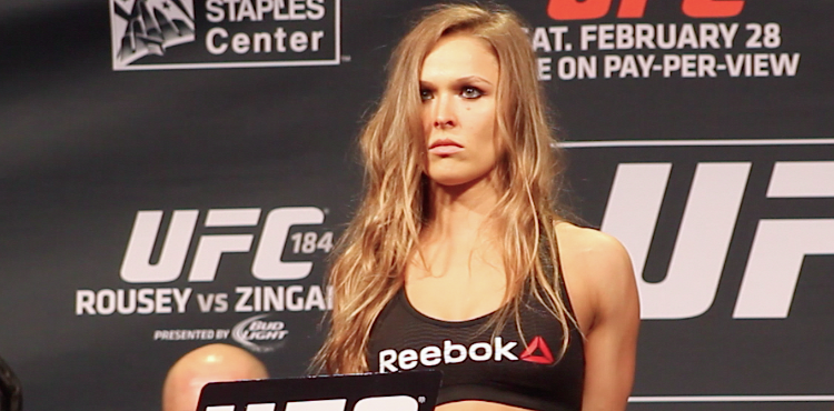 Ronda-Rousey-UFC-184-weigh-in
