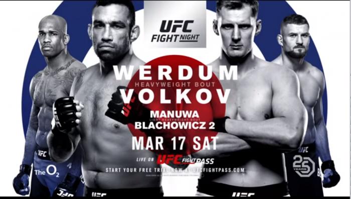 UFC Fight Night: Werdum vs. Volkov Live Results - MMA UK
